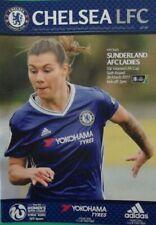 CHELSEA WOMEN v SUNDERLAND LADIES. FA Cup 6th Rd 26/3/2017