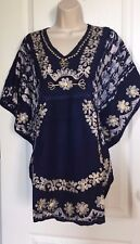 Top  Women's Shirt Tunic Top Blouse Top Poncho V Neck Loose Fit Kimono Sleeve