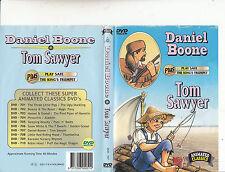 Daniel Boon-1981/Tom Sawyer-2 Animated-DVD