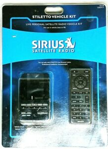 Sirius XM Stiletto Vehicle Kit SLV1R For Portable Satellite Radio