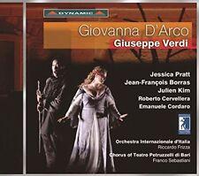 Giuseppe Verdi: Giovanna D'Arco (CD, Mar-2016, 2 Discs, Dynamic (not USA))
