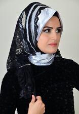 DRP38 Draperie Chiffon Fertig Kopftuch Hazir Türban Sal Tesettür Hijab Khimar