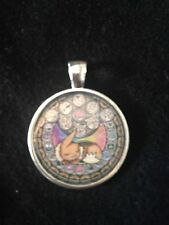 Kingdom Hearts Themed Stained Glass Necklace Keyring Pokemon Eevee