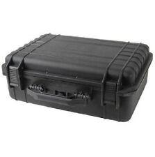 """18"""" Black Tactical Weatherproof Equipment Case"""