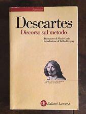 Descartes Discorso sul metodo Editori Laterza 2001