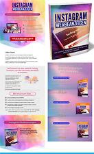 Instagram Werbeanzeigen - Hohe Renditen - eBook, PLR Lizenz Komplettpaket