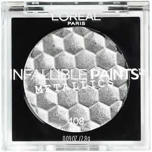 LOreal Paris Makeup Infallible Paints Eyeshadow Metallics