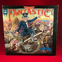 ELTON JOHN Captain Fantastic & The Brown Dirt Cowboy 1975 UK vinyl LP A1 B1