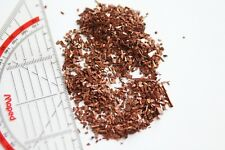 1 Pound of Copper Chops, Granulate, Fines - 99,95% pure - 1-2mm size