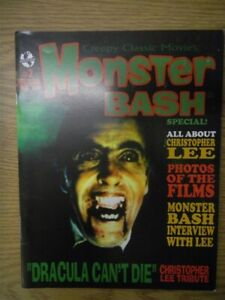 MONSTER BASH MAGAZINE SPECIAL #2 VF CHRISTOPHER LEE TRIBUTE DRACULA