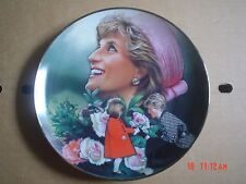 Franklin Mint Collectors Plate ENGLANDS ROSE Princess Diana