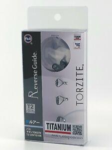 Fuji original Titanium TORZITE bait casting Guides Set T2-LRVTG108 FREE SHIPPING