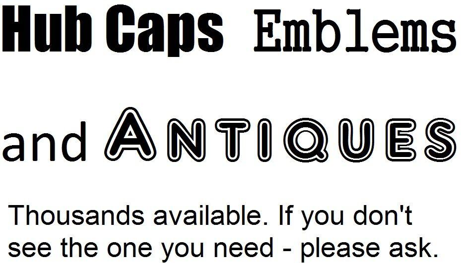 Hub Caps Emblems and Antiques