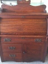 vintage roll top desk, East lake ,very good condition, oak , 40w 48h