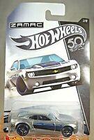 2018 Hot Wheels 50th Anniversary Zamac 2/8 CHEVY CAMARO CONCEPT Zamac w/BlkOH5Sp