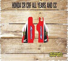 HONDA CRF CR 85 125 150 250 450 MOTOCROSS SWINGARM GRAPHICS-DECALS-STICKERS-BLAC