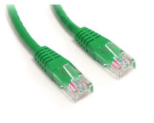 BRAND NEW GREEN 2M RJ45 Molded Cat5e ETHERNET NETWORK Patch Cable FAST FREE POST