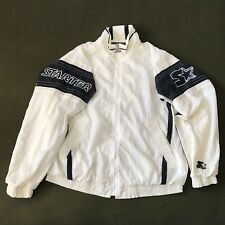 Vintage Starter Full Zip Windbreaker Jacket Men's L Big Star Spell-out Logo