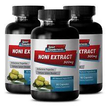 Noni Juice - 100%  NONI EXTRACT 8:1 500mg  Fat Oxidation,  Metabolism Pills 3B