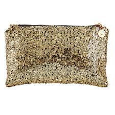 Womens Glitter Sparkling Sequins Handbag Ladies Evening Party Clutch Bag Purse
