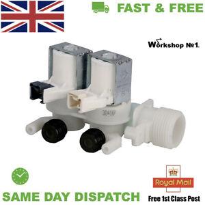 HOTPOINT WMUD823PUK, WMUD9427PUK WASHING MACHINE SOLENOID WATER VALVE 2 WAY