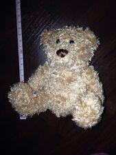 Nanu Nana Teddybär Braun 15cm Schwarz Sitzt Stofftier Kuscheltier Plüsch Bear