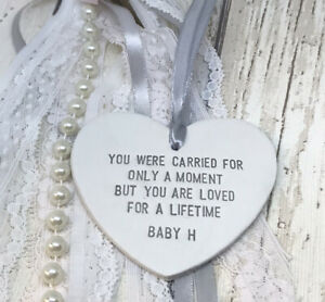 Personalised Baby Loss Miscarriage Memorial Sympathy Plaque Keepsake Memory Gift