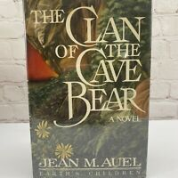 Clan of the Cave Bear By Jean Auel True First Edition 1st Printing 1980 Hardback