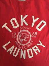 Tokyo Laundry Red T-Shirt Brand 68 Large