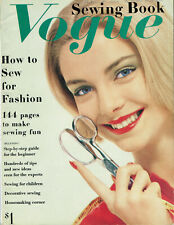 Vintage 1958 Vogue Sewing Book For High Fashion Construction and Technique