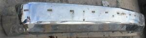 88-02 Chevrolet C/K Pickup Steel Front Bumper Face Bar