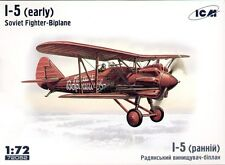 ICM 1/72 Polikarpov I-5 early version # 72052