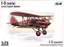 ICM 1/72 Polikarpov I-5 early version # 72052