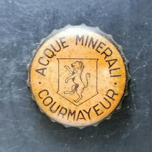 Courmayeur tappo acqua minerale water bottle cap chapa agua Kronkorken