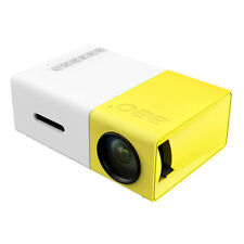 Hot SaleYG-300 LCD Mini Support 1080P Portable LED Projector Home Theater Cinema