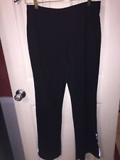 Pre-Owned SJB Active Woman's Athletic Pants Black Size M
