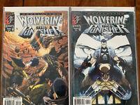 Wolverine & The Punisher Revelation MARVEL KNIGHTS Issue 3 & 4 Graded NM
