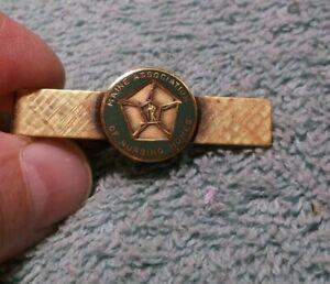 Vintage Maine Association Of Nursing Homes Tie Clip