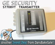 GE Security S7708VT Single Mode 8 Channel Fiber Optic Transmitter w Power Supply