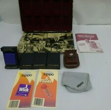 Misc. Lot  USED Zippo  Accessories  COLLECTIBLE TIN RULER POUCH ETC