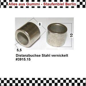 8x Stahbuchse Buchse Lager Hülse Metall 3915.15 *A aus Berlin