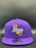 Los Angeles Lakers New Era Local State C1 9FIFTY Snapback Original Fit - Purple