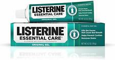 Listerine Essential Care Toothpaste, Powerful Mint Gel - 4.2 Oz