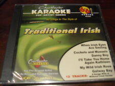CHARTBUSTER 6+6 KARAOKE DISC 40360 TRADITIONAL IRISH CD+G POP MULTIPLEX SEALED