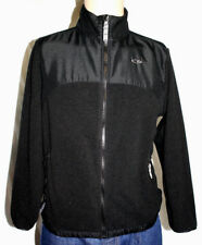 Champion Boys Size L 12-14 Warm Black Fleece Long Sleeved Zip Front Jacket