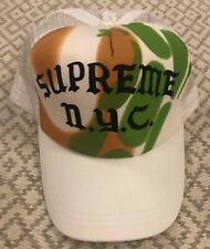 Supreme x Rammellzee mesh trucker hat / cap - Extremely rare - 2005