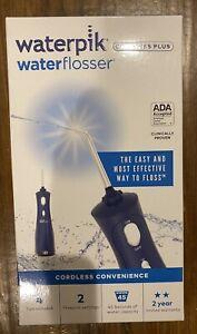 NEW Waterpik Cordless Plus Water Flosser Classic Blue NIB Sealed