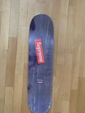 Supreme Spin Skateboard Deck Purple Skate Ss16