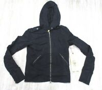 Da-Nang Surplus Women's Sweater Embroidered Hooded BLACK FTG23761909 X-SMALL XS