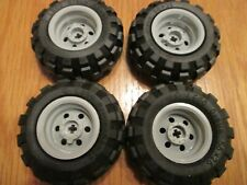 LEGO TECHNIC MINDSTORM NXT 2.0 TYRE & WHEEL SET 56 X 26  (4 OF) GREAT CONDITION